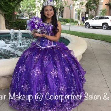 _ COLORPERFECT SALON & SPA. Makeup artist In Valencia MALL, Hair Care, Updo's, Styles, SANTA CLARITA