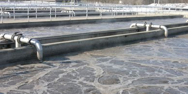 Wastewater treatment plant in Fairfield, Ohio