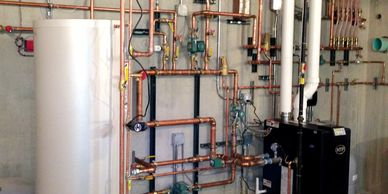Installation of steam and hot water heating systems and boilers. Installation of HVAC heating & cooling systems.