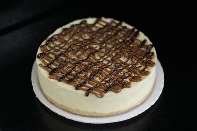"8"" Baked Turtle  Cheesecake"