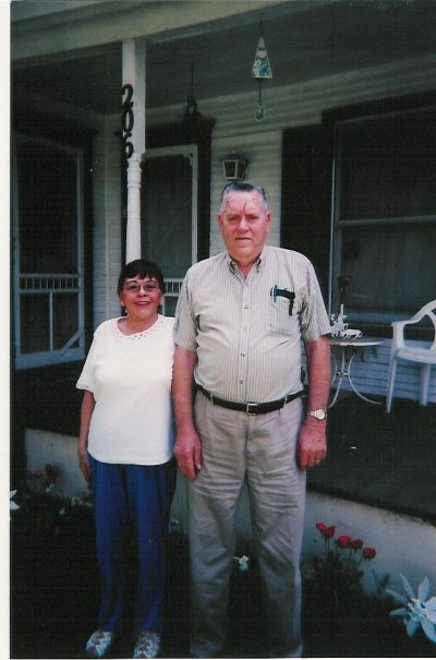 Hank and Betty Jean Cornwell Gaines