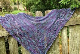 Evening Paseo Shawl from Knitter's Journey