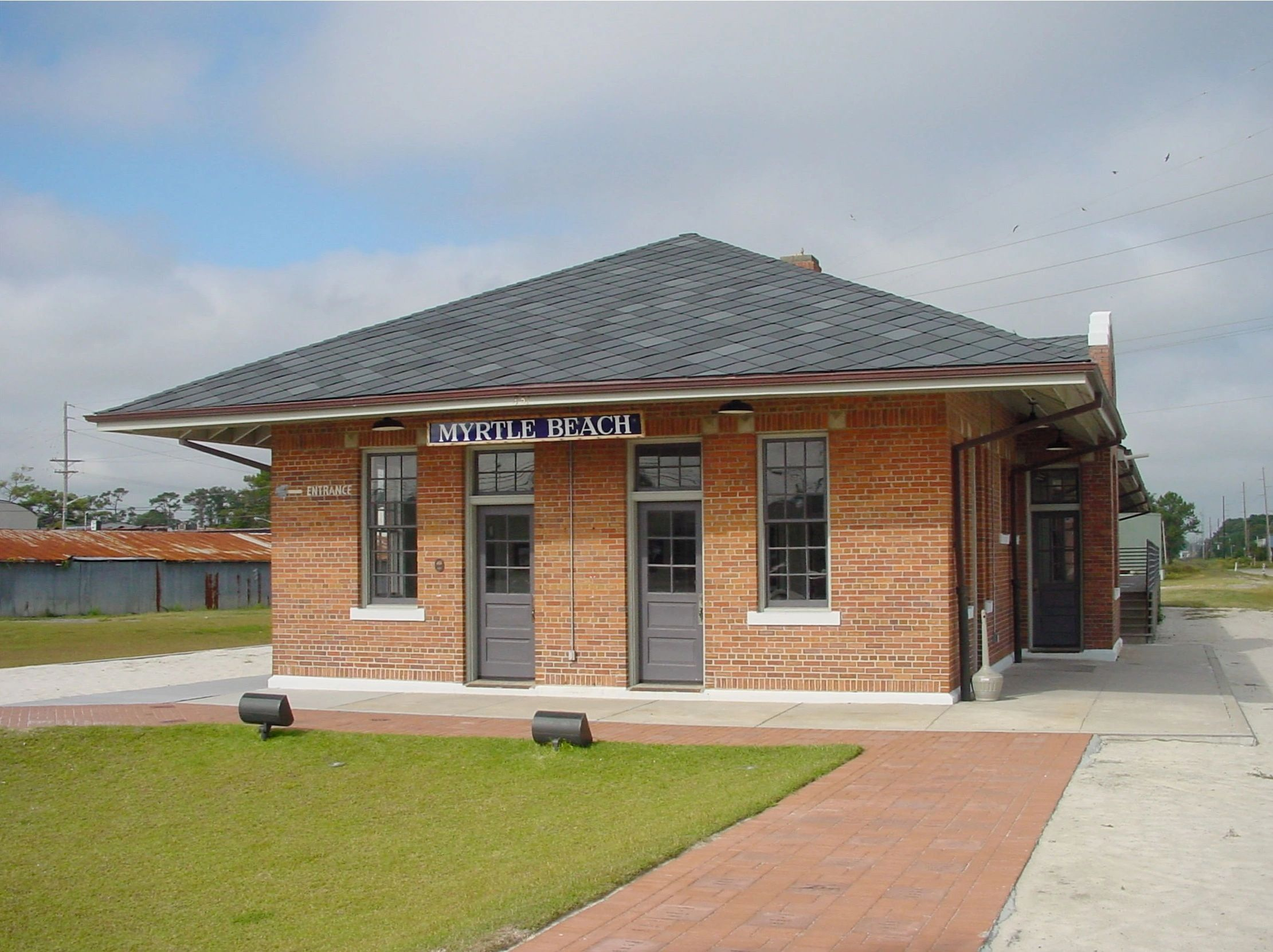 Historic Myrtle beach Train Depot Restoration