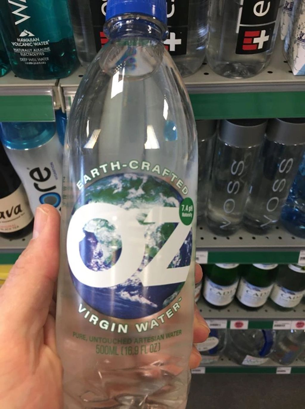 Local pure water from Springfield MO.