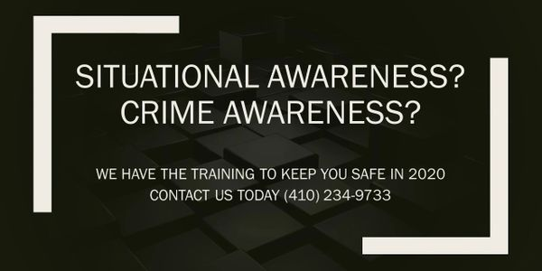 Personal Protection Crime Awareness Training