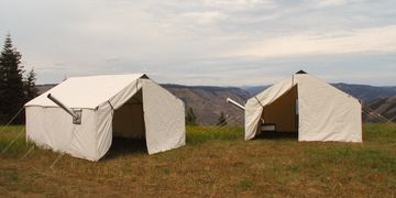 Canvas Wall Tents, Outfitter Wall Tent