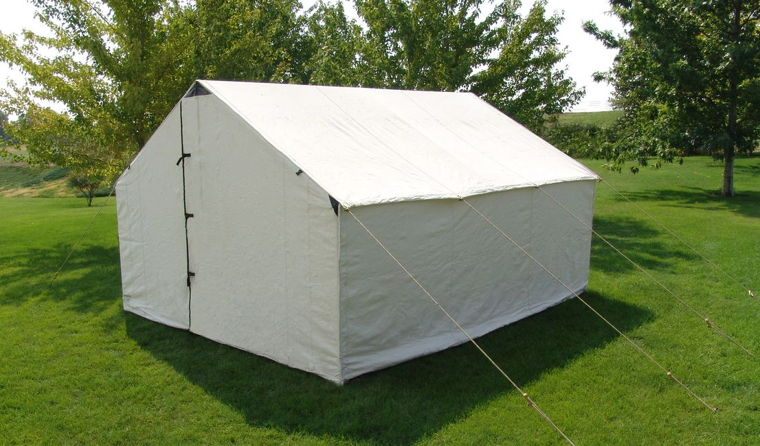 Canvas wall tent sale blue mountain special
