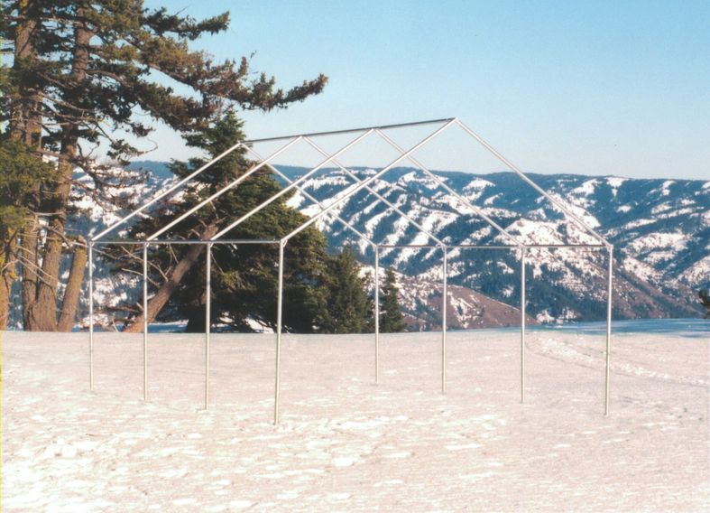 steel tent frame wall tent frame