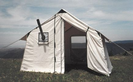 Canvas Tent for packing