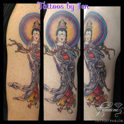 Tattoo with Jen