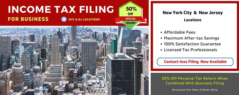 New York, NY and NJ accountant specializing in business tax filing