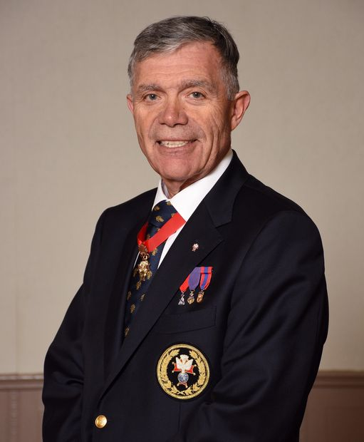 District Master R.A. (Reg) Campbell