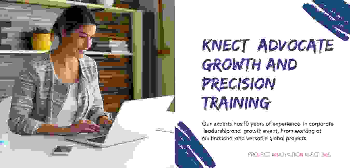 Project Innovation Knect 365, growth training