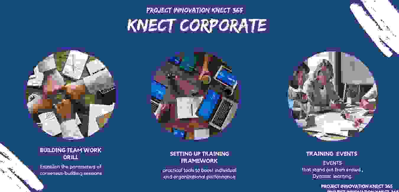 Project Innovation Knect 365, knect corporate drive