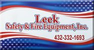 Leek Safety and Fire Equipment