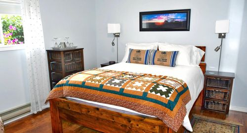 Room at Anchor Down Bed and Breakfast in Rocky Harbour, Newfoundland. Explore Gros Morne Park