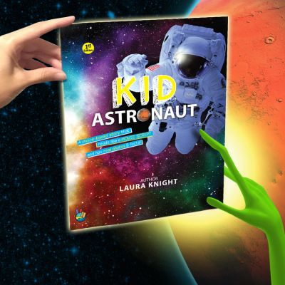 Kid Astronaut Book Space STEM Books Childrens Laura knight Mars NASA Adventure Kids SciFi Aliens
