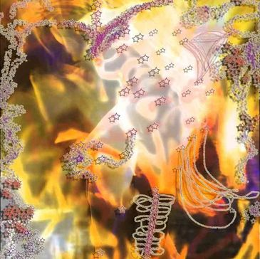 Fire Goddess is an digital art image that stems from photography merging many works to create something new by the artist Deprise.