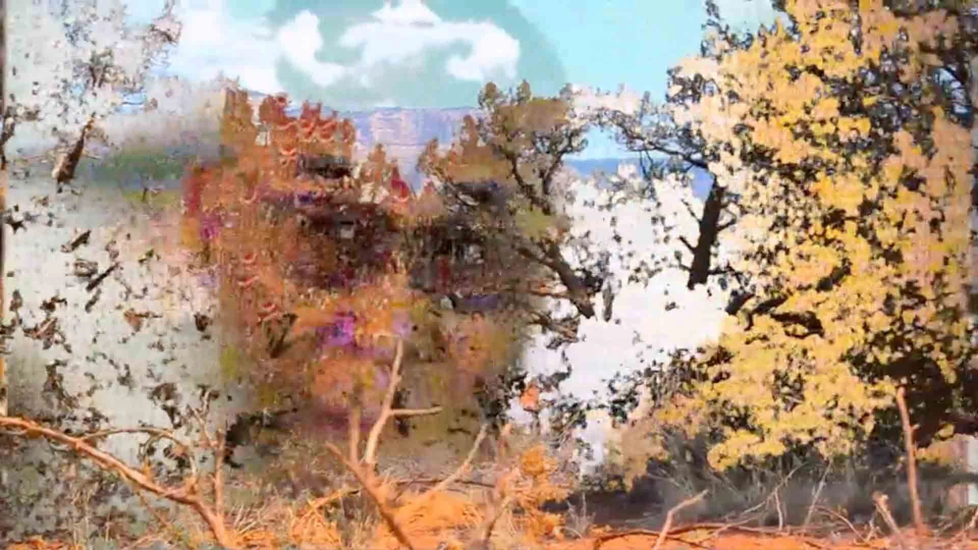 Inspirational art film featuring the Dali Lama depicting his open mind.