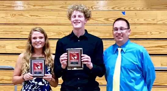 laguna creek high school athlete of the year Braiden Bedal Sydney Hart Jon Ussery
