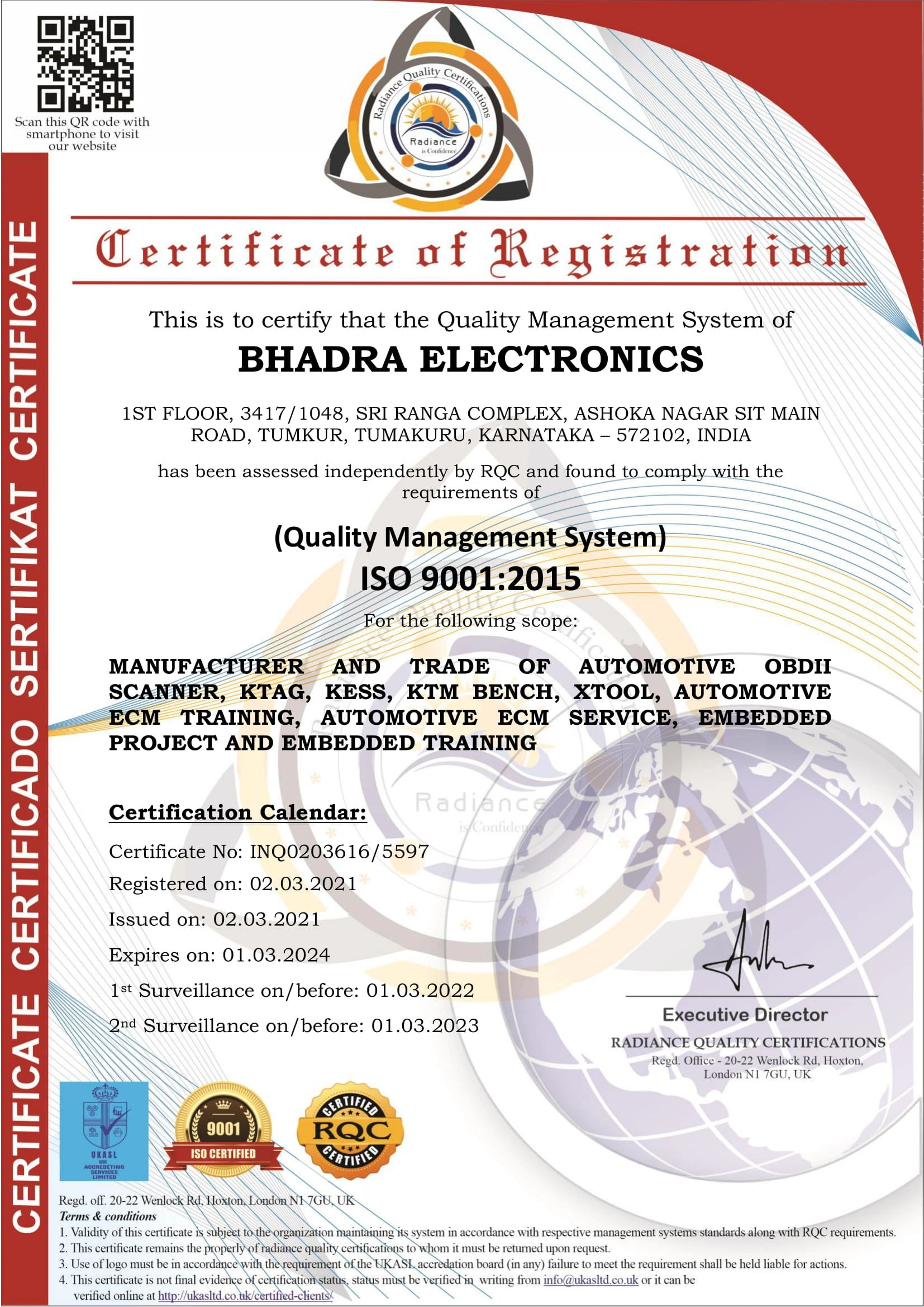 Ecu Calendar 2022.Certified Ecu Training Institute Bhadra Electronics Bhadra Electronics