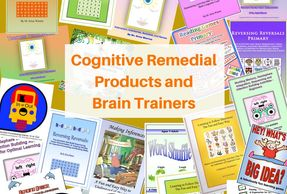 Cognitive Remedial Products can exercise cognition for improve learning