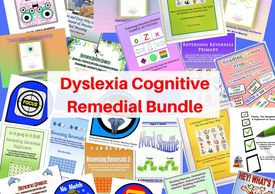Dyslexia Cognitive Remedial Bundle for helping struggling students