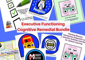 Executive Functioning Bundle for helping students with planning and organizing