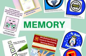 Memory products at Good Sensory Learning