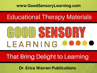 Good Sensory Learning Educational Therapy Materials