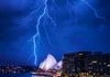 Standing in the middle of a lightning storm over Sydney!