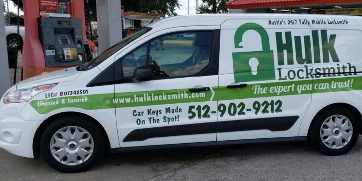 Hulk Locksmith Mobile Van