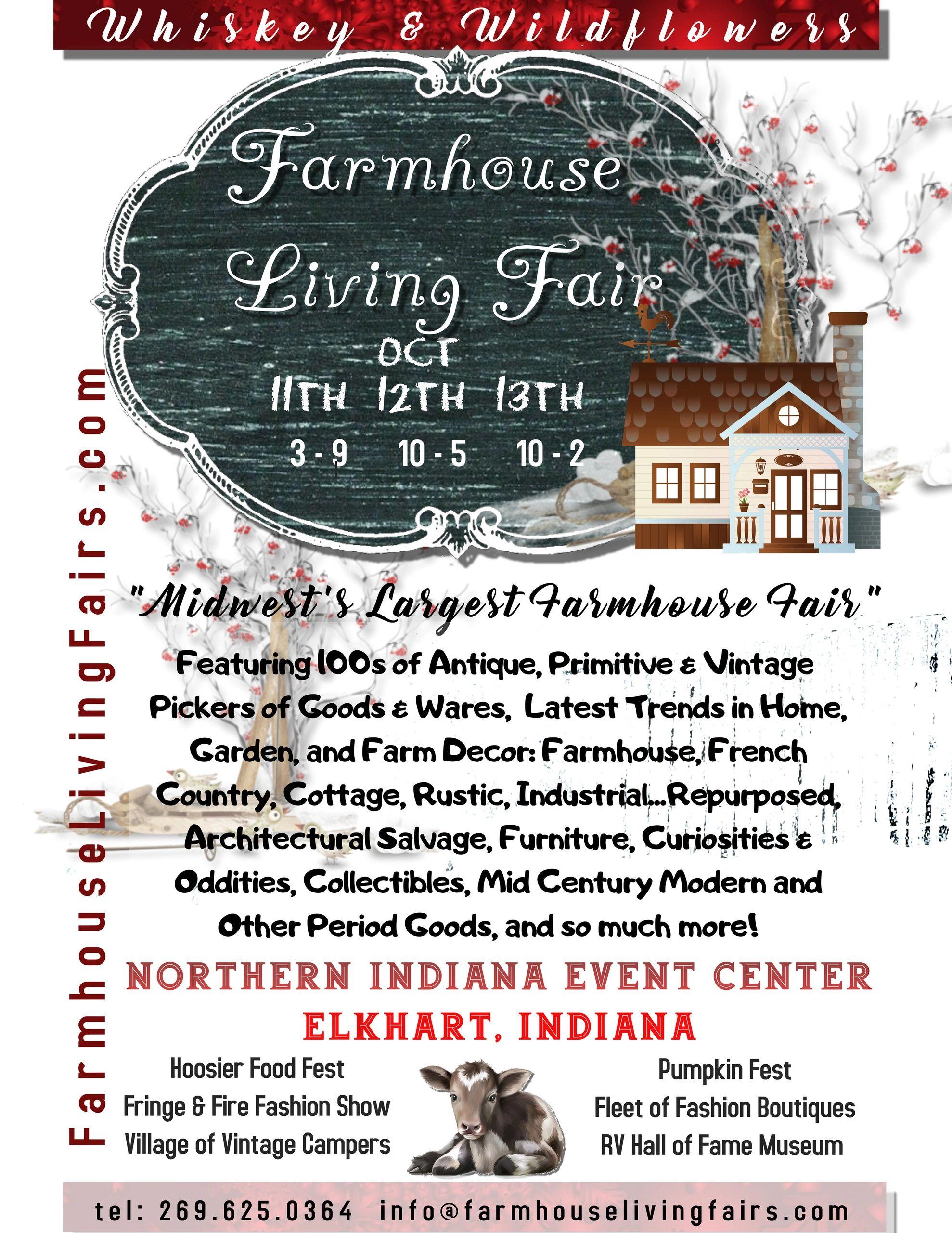 Country Living Fair 2020.Farmhouse Living Fair Coming To Elkhart Indiana Oct 11th 13th