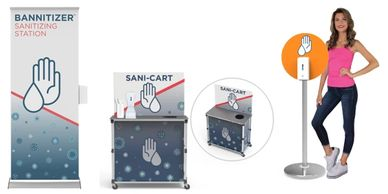 sanitizing carts, hand sanitizer dispensers for schools, sanitizing stations, gym sanitizing station