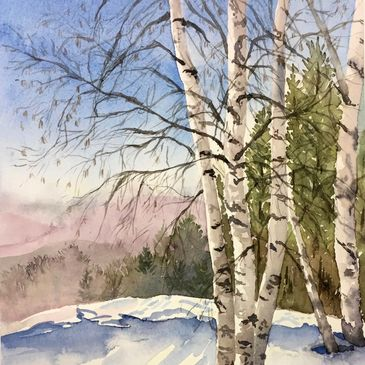 ... a watercolor painter with a love of nature