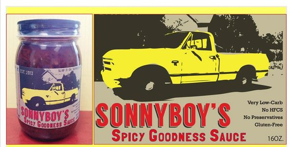 Sonnyboy's Spicy Goodness Sauce - Concentrated. Spoon it straight out of the jar if you like.