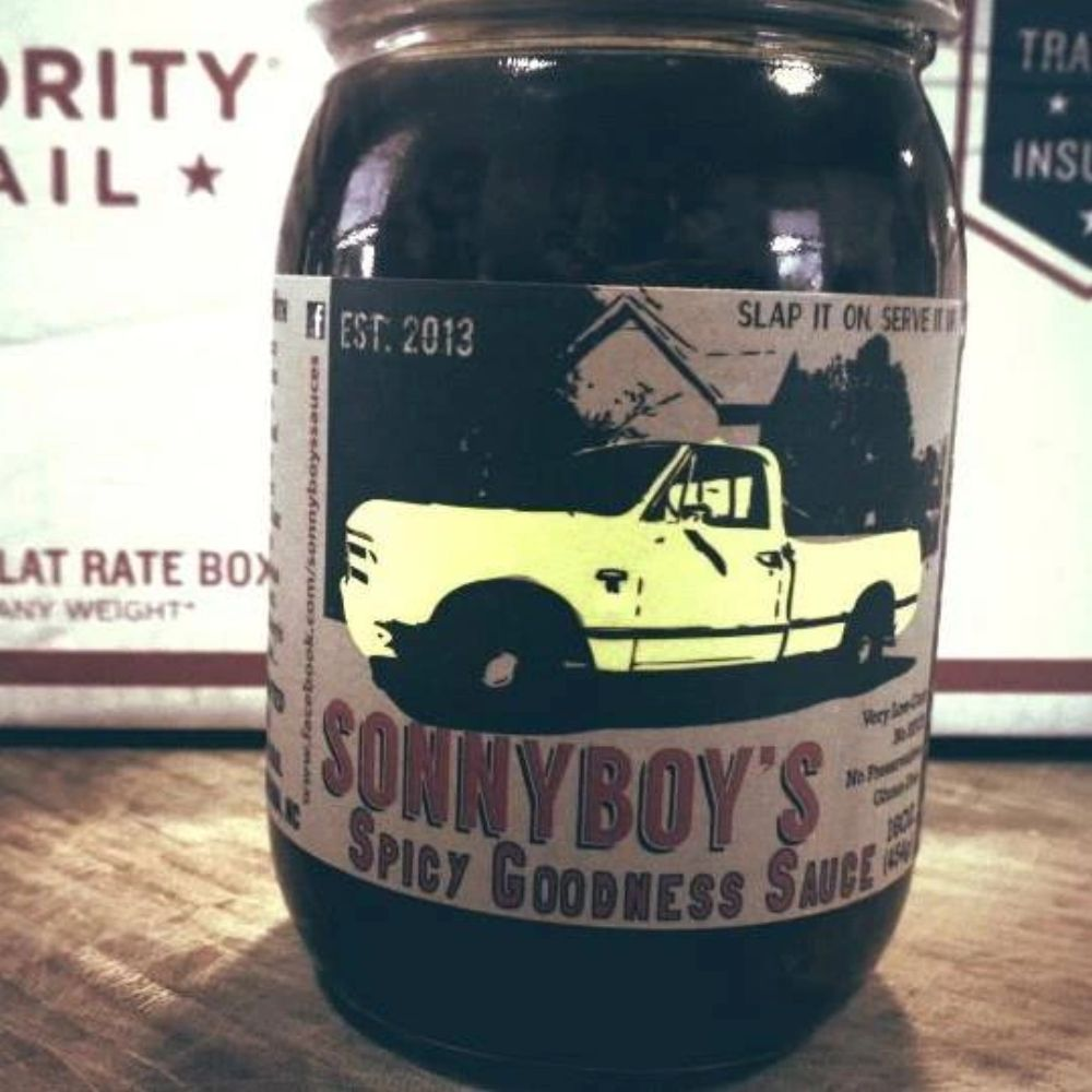 Ready to ship when you are! Freshly made Sonnyboy's Cajun-Inspired Fresh Garlic and Spices Sauce