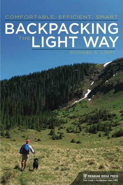 Cover image of Backpacking the Light Way