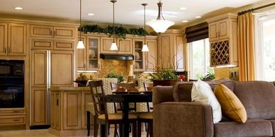 The dreamed kitchen would become a reality. Pasadena Craftsman contractor will convert your kitchen