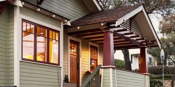 custom restoration painting craftsman bungalow house.