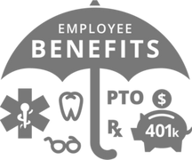 401K, Group Health, Group Dental, HR, employee benefits