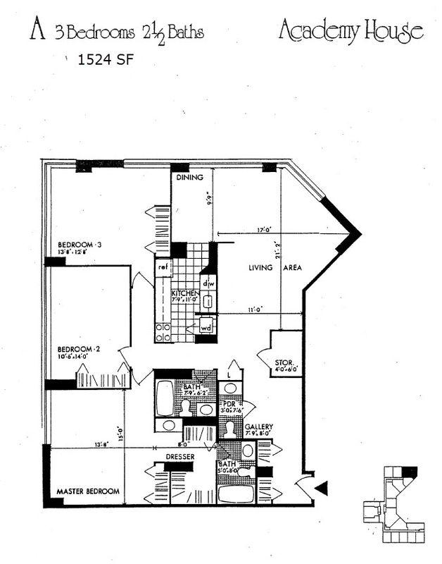 Floor Plans Academy House