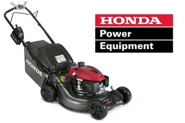 Rhode Island Honda HRN216VLA Self-Propelled Electric Start Mower
