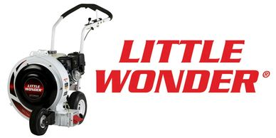 Rhode Island Little Wonder Billy Goat Push Leaf Blowers