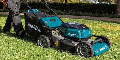 Rhode Island Battery Powered Lawn Mowers from Makita, Echo and Stihl.