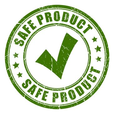 safe product check stamp