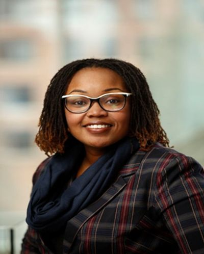 Dr. Yvette Conyers, FNP,  Assistant Professor of Nursing at the University of Rochester, SON