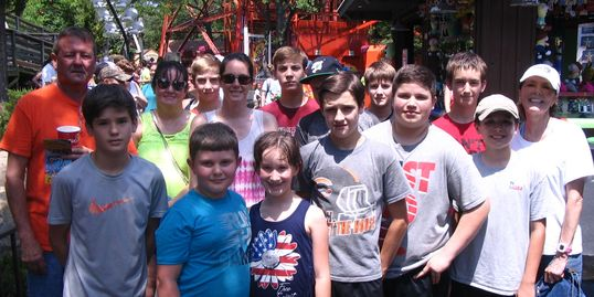 Youth at Six Flags Over Texas 2018