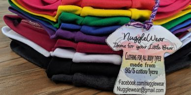 NuggleWear, cloth face mask, clothing for all body types.