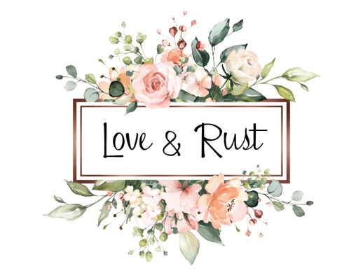love & rust - home decor with heart